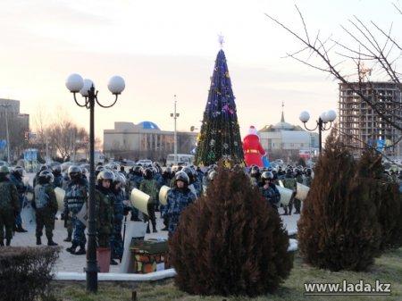 В Актау отказались от новогодних массовых гуляний