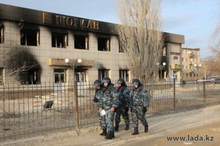 Жанаозен - 14 января - Фото Ольги Ярославской