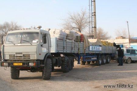 Компания «Ерсай» доставила в Жанаозен благотворительную помощь на 13 миллионов тенге